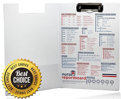 Nurse Report Clipboard