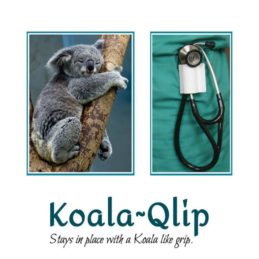 Koala~Qlip - Nurse Born Stethoscope Holder