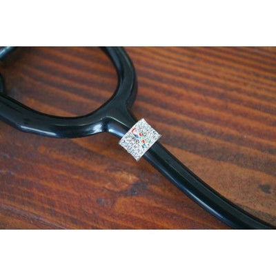 Autism Awareness Ribbon Stethoscope Charm by CharMed