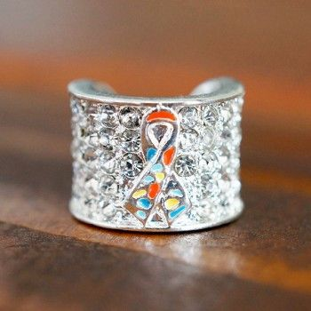 Stethoscope Charm for Autism Awareness Ribbon