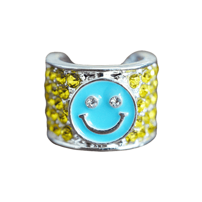 Smiley Face Stethoscope Charm