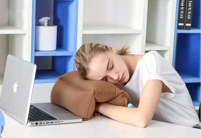 Inflatable Desk Office Pillow (6 Color Choices)