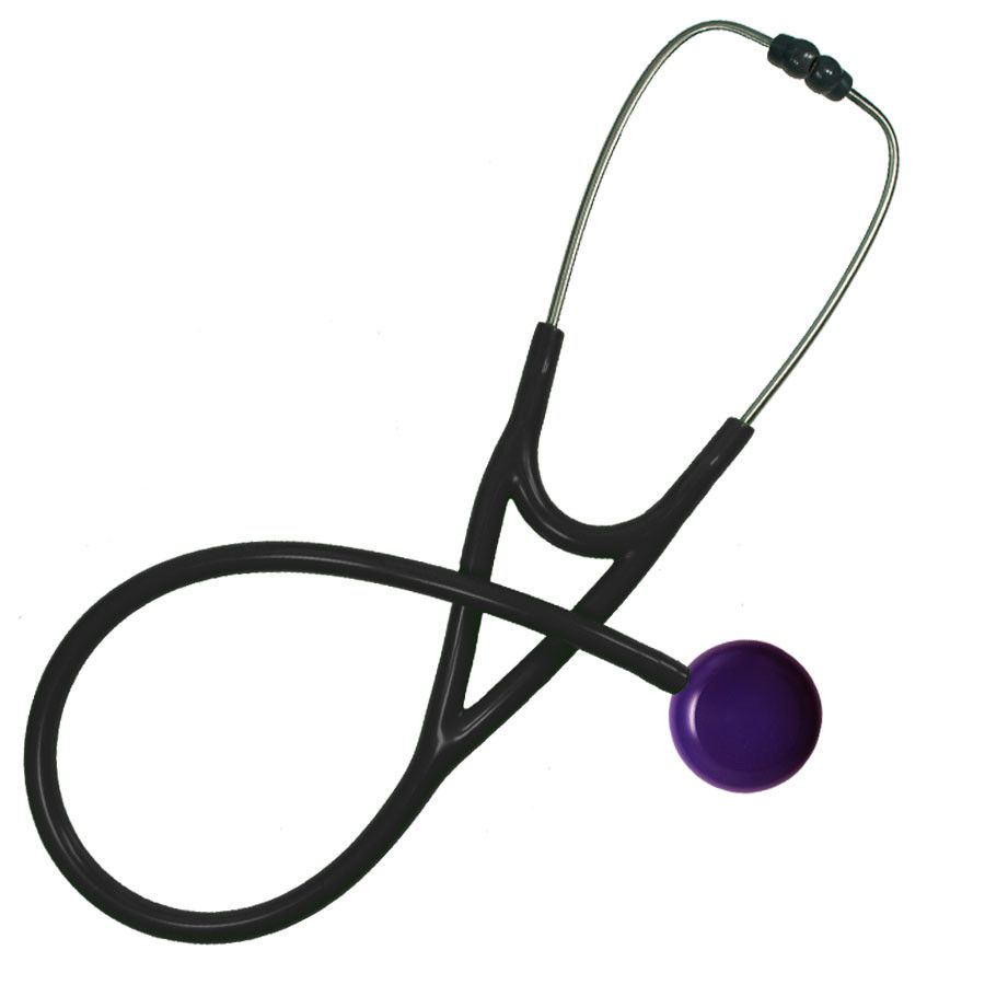 MaxiScope Cardiology Stethoscope Purple