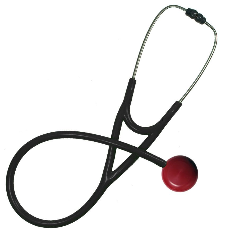 MaxiScope Cardiology Stethoscope Red