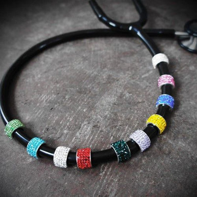 Colid Color Stethoscope Charms by CharMed.