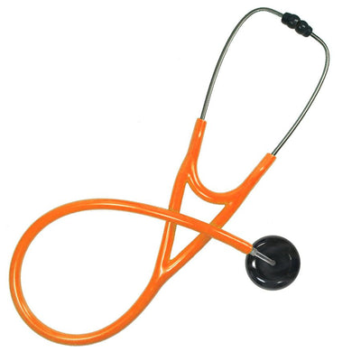 UltraScope Cardiology Stethoscope Solid Color Black