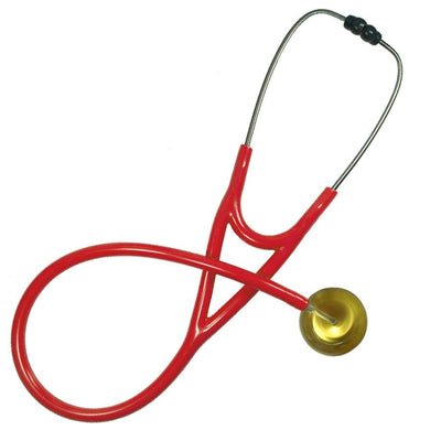 UltraScope Cardiology Stethoscope Solid Color Gold