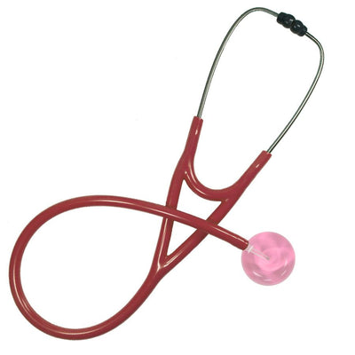 UltraScope Cardiology Stethoscope Solid Color Light Pink