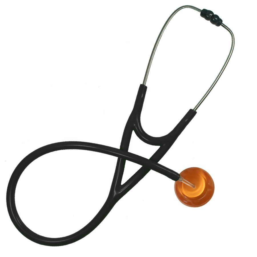 UltraScope Cardiology Stethoscope Solid Color Orange
