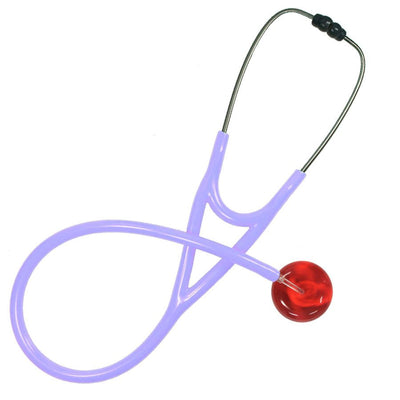 UltraScope Cardiology Stethoscope Solid Color Red