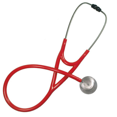 UltraScope Cardiology Stethoscope Solid Color White