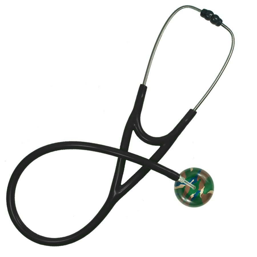 UltraScope Cardiology Stethoscope Camouflage Green
