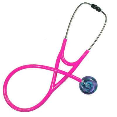 UltraScope Cardiology Stethoscope Color Me Swirled Teal