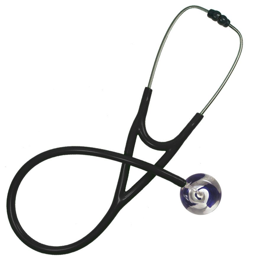 UltraScope Cardiology Stethoscope Color Me Swirled Purple