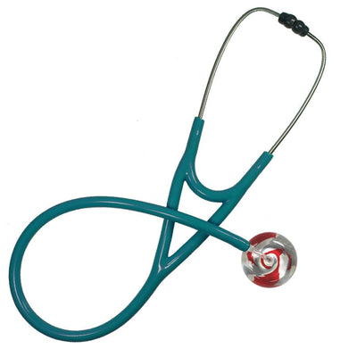 UltraScope Cardiology Stethoscope Color Me Swirled Red