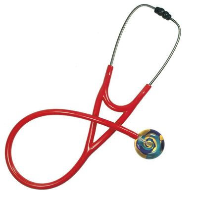 UltraScope Cardiology Stethoscope Color Me Swirled Gold
