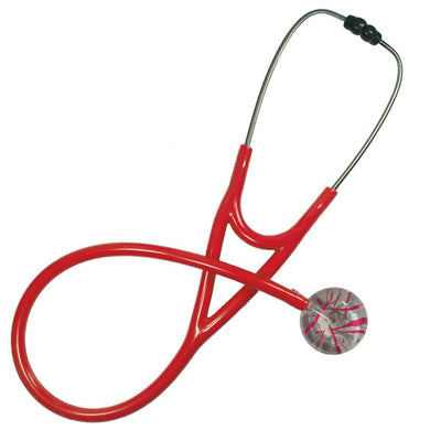 UltraScope Cardiology Stethoscope Razzle Dazzler Hot Pink and Gray