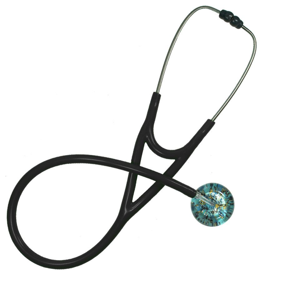 UltraScope Cardiology Stethoscope Shabby Chic Teal