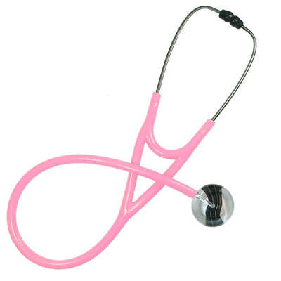 UltraScope Cardiology Stethoscope Black Wave Silver