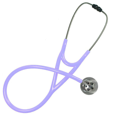 UltraScope Cardiology Stethoscope Paw Prints Silver