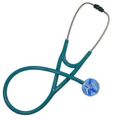 UltraScope Cardiology Stethoscope Dragonfly Light Blue
