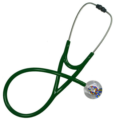 UltraScope Cardiology Stethoscope Autism Awareness Ribbon