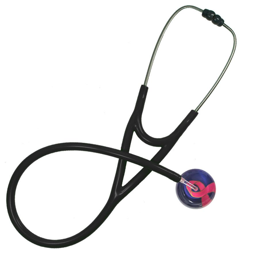 UltraScope Cardiology Stethoscope Awareness Ribbon Purple