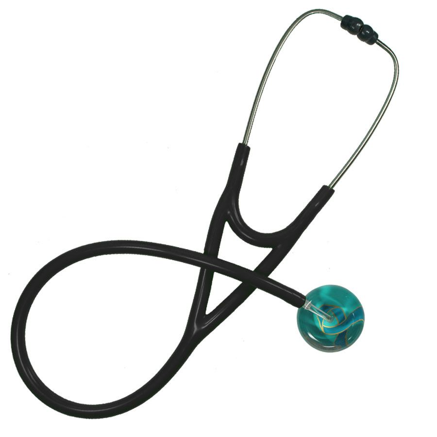UltraScope Cardiology Stethoscope Awareness Ribbon Teal