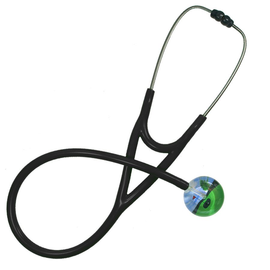 UltraScope Cardiology Stethoscope Hole in One