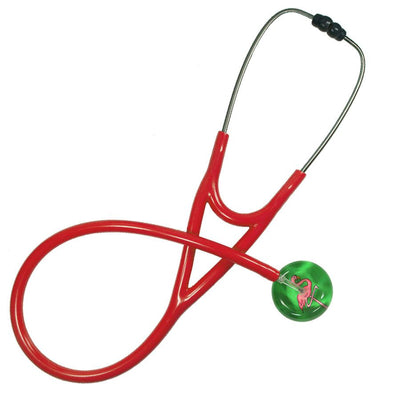 UltraScope Cardiology Stethoscope Flamingo Light Green