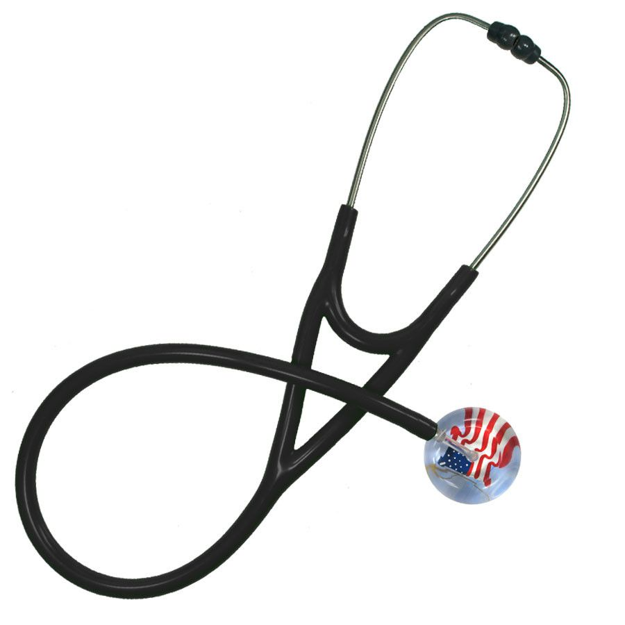 UltraScope Cardiology Stethoscope American Flag