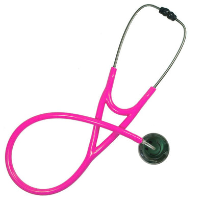 UltraScope Cardiology Stethoscope Smiley Face Green