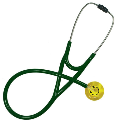 UltraScope Cardiology Stethoscope Smiley Face Yellow