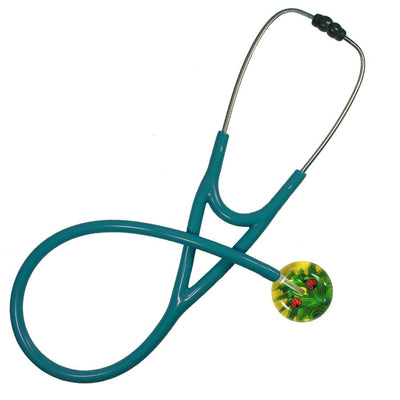 UltraScope Cardiology Stethoscope Ladybugs Yellow
