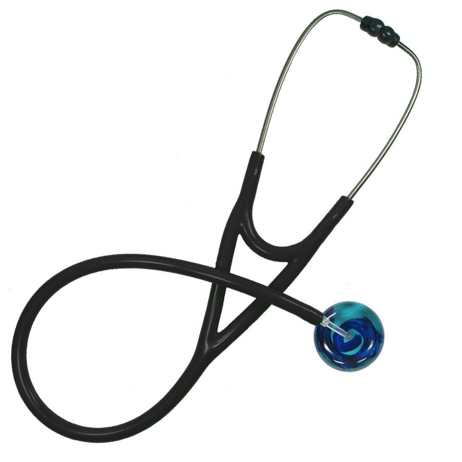 UltraScope Cardiology Stethoscope Merry Go Round Teal