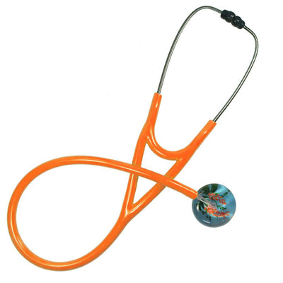 UltraScope Cardiology Stethoscope Flower Vines Light Blue