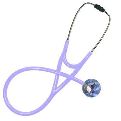 UltraScope Cardiology Stethoscope Angel with Trumpet Lavender