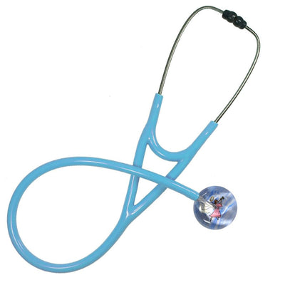 UltraScope Cardiology Stethoscope Angel with Trumpet Light Pink