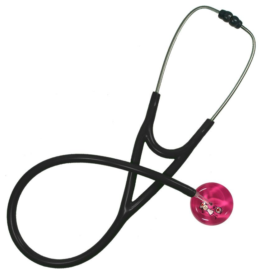 UltraScope Cardiology Stethoscope Stick Nurse Hot Pink
