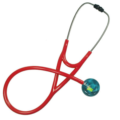 UltraScope Cardiology Stethoscope Clown Teal