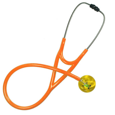 UltraScope Cardiology Stethoscope Clown Yellow