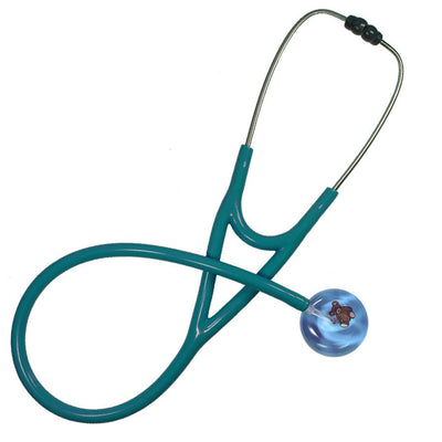 UltraScope Cardiology Stethoscope Teddy Bear Light Blue