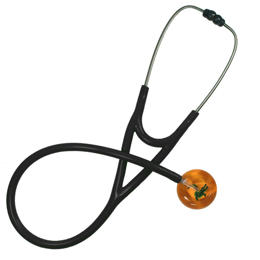 UltraScope Cardiology Stethoscope Alligator Orange
