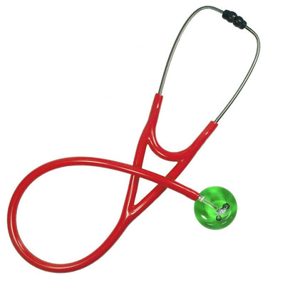 UltraScope Cardiology Stethoscope Motorcycle Light Green