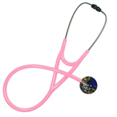 UltraScope Cardiology Stethoscope Hummingbirds Purple