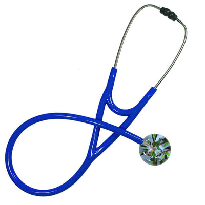 UltraScope Cardiology Stethoscope Tree Frogs Light Blue