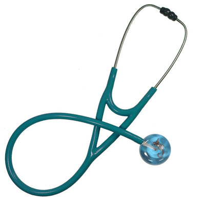 UltraScope Cardiology Stethoscope Kitty Light Blue