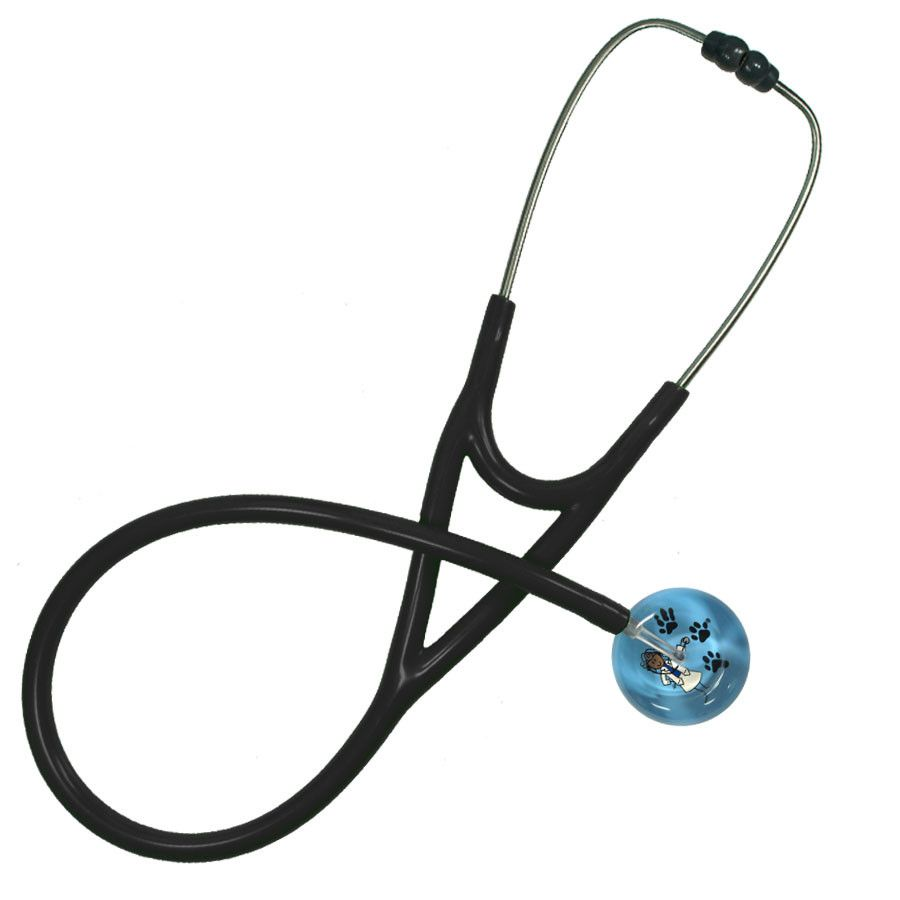 UltraScope Cardiology Stethoscope Stick Doctor Light Blue
