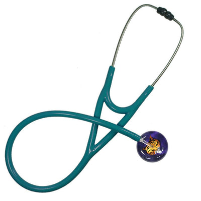 UltraScope Cardiology Stethoscope Tiger Face Purple