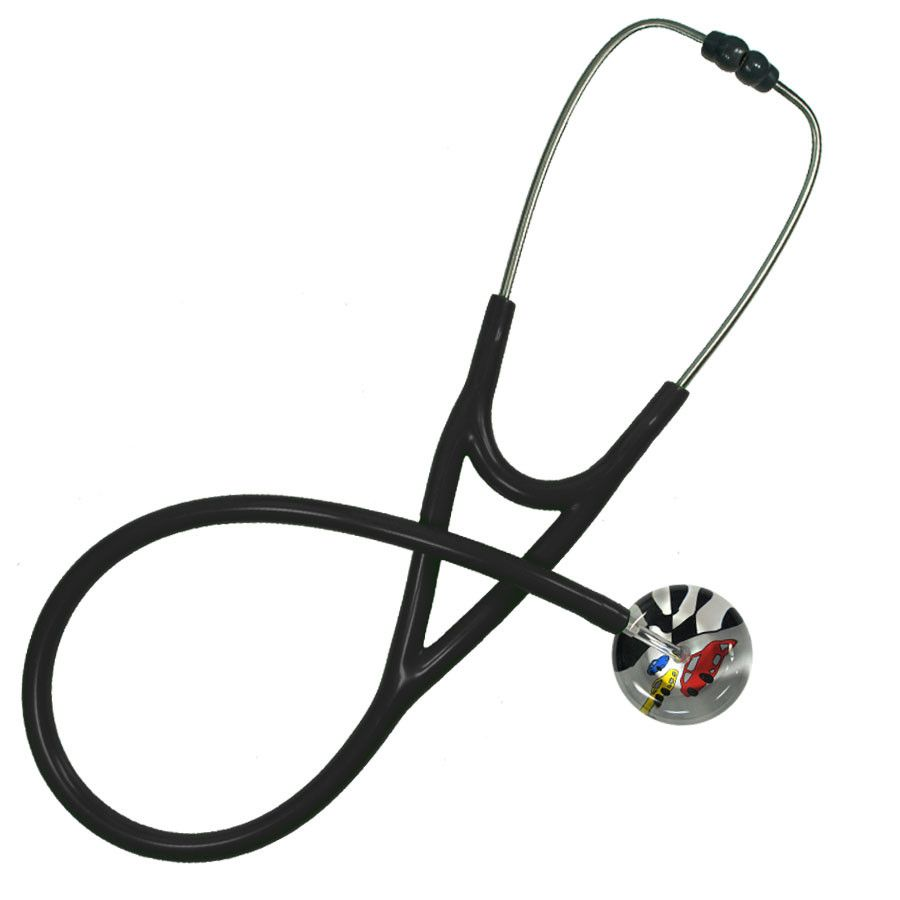 UltraScope Cardiology Stethoscope Race Cars